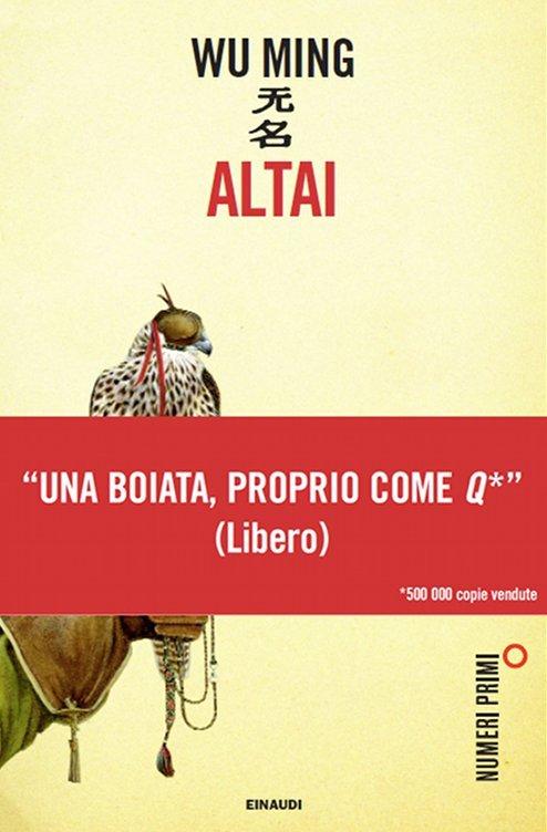 Altai, edizione numeri primi con fascetta: «Una boiata proprio come Q» (Libero)