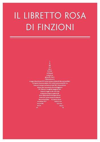 """Il """"Libretto rosa"""" di Finzioni"""