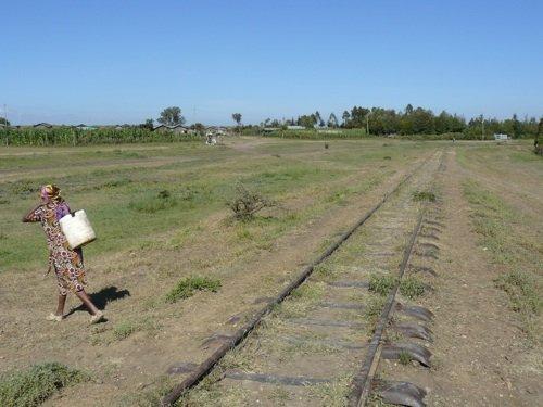 La vecchia ferrovia a Nanyuki