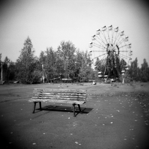 Parco di fantasmi, gli anni Ottanta