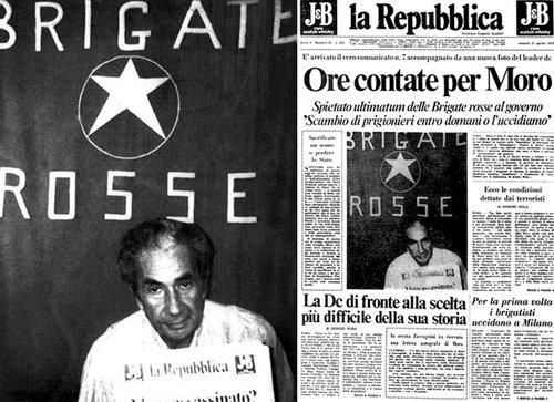 La Repubblica durante il sequestro Moro
