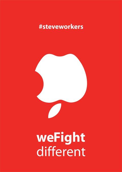 weFight different: Steve Workers è il guru del proletariato