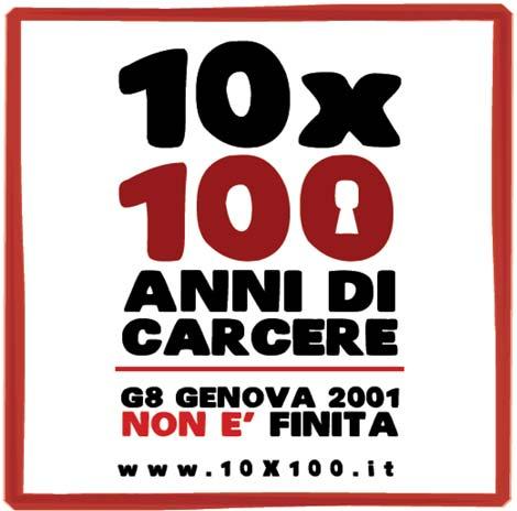 La campagna 10 x 100 | Genova 2001 non è finita