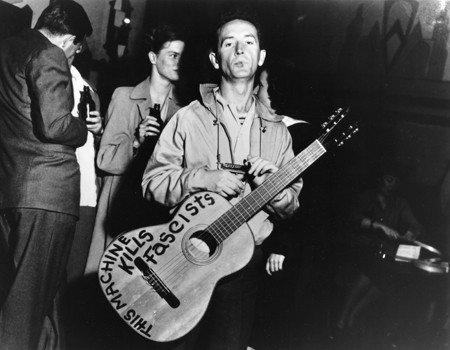 Repubblica intervista Wu Ming 1 che cita Woody Guthrie come modello ispiratore per gli scrittori