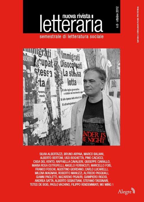 Letteraria 6 - in copertina, Stefano Tassinari