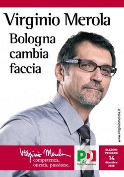 Bologna con la faccia di Merola