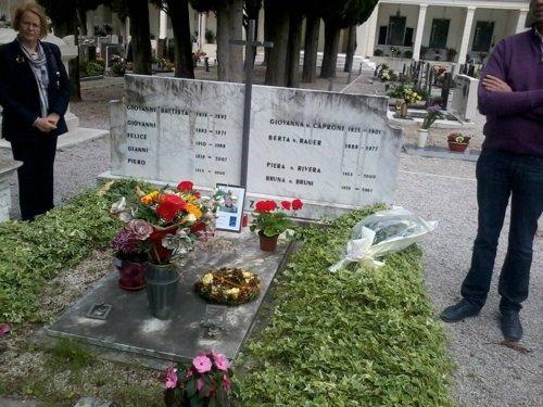 Tomba di Felice Benuzzi a Dro