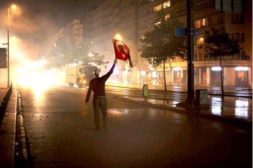 Testimone a Gezi Park