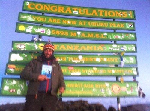 Point Lenana sul Kilimanjaro