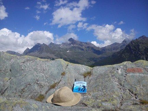 Chiara si è portata Point Lenana in Val d'Ayas, alle pendici del Monte Rosa.
