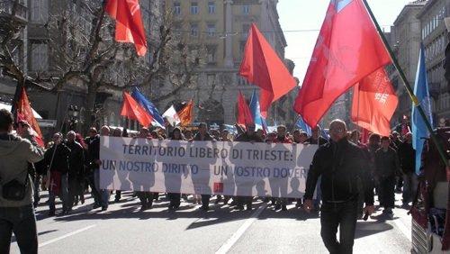 Corteo del Movimento Trieste Libera