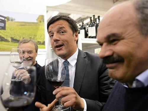 Renzi e Farinetti