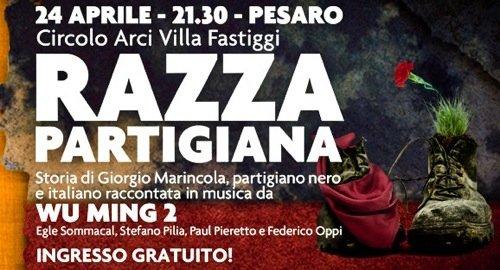 Razza partigiana a Pesaro