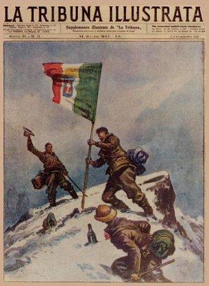 Come l'impresa di Benuzzi & Co fu riportata dalla stampa popolare del 1943