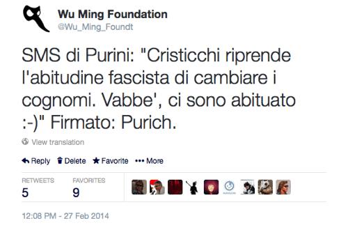 Il commento di Piero Purini.
