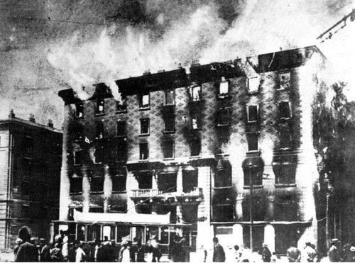 L'incendio del Narodni Dom, 13 luglio 1920