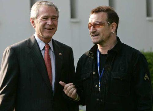 Uomini di pace. George W. Bush e Bono