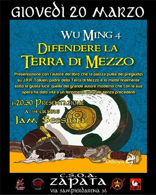Wu Ming 4 a Genova