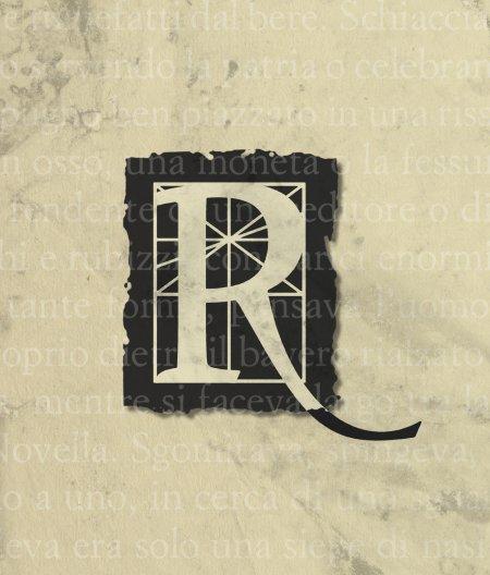 La lettera R.
