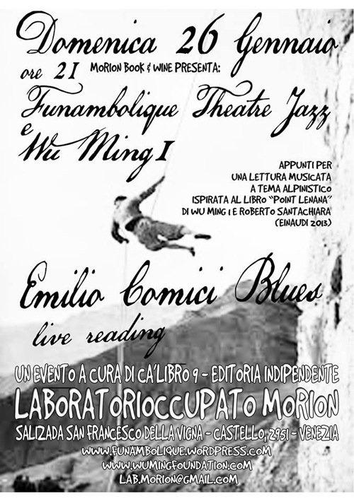 Emilio Comici Blues a Venezia, gennaio 2014
