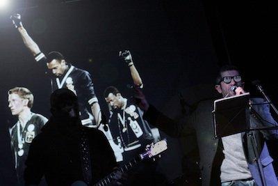 WMC sul palco di Strike, Roma, 7.02.14. Foto by D.DeGregorio