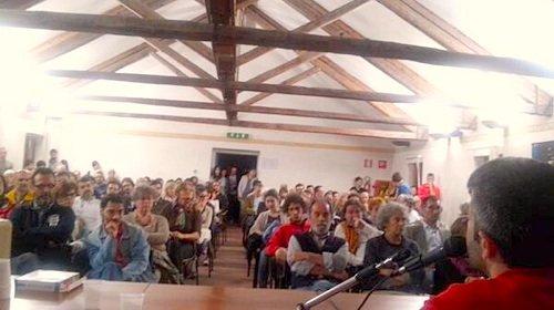 Istituto Catullo, Belluno, 29 maggio 2014: presentazione de «L'Armata dei Sonnambuli».