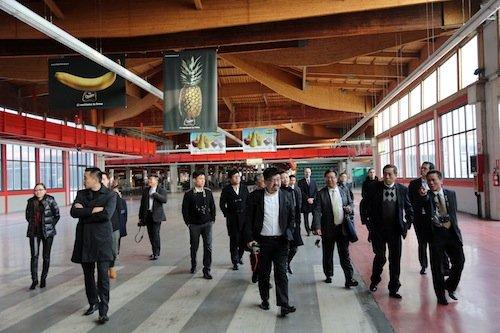 Delegazione THE LINK al CAAB di Bologna. Foto Borella/Eikon