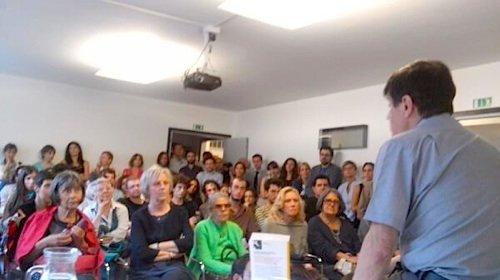 Libreria Laformadelibro, Padova, 30 maggio 2014: il filosofo e storico della psichiatria Mario Galzigna presenta con noi «L'Armata dei Sonnambuli».