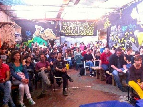 Centro sociale NextEmerson, Firenze, 18 maggio 2014: presentazione de «L'Armata dei Sonnambuli».