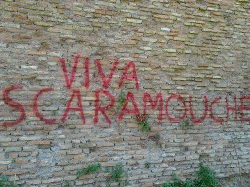 Un muro del quartiere S. Lorenzo, Roma.