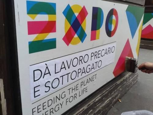 Expo dà lavoro precario e sottopagato