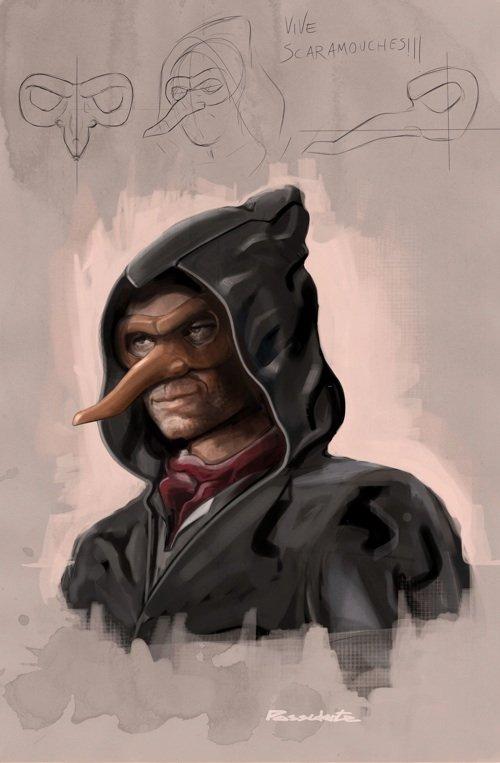 Scaramouche visto da Vito Possidente. Clicca sull'immagine per ingrandirla.