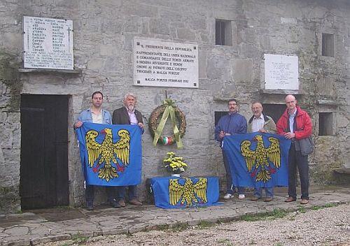 7 luglio 2012, commemorazione alle Malghe di Porzus.