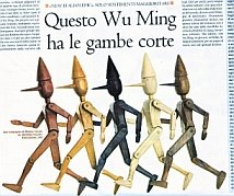 Illustrazione e titolo dell'articolo di Emanuele Trevi, da Alias del 14/02/2009