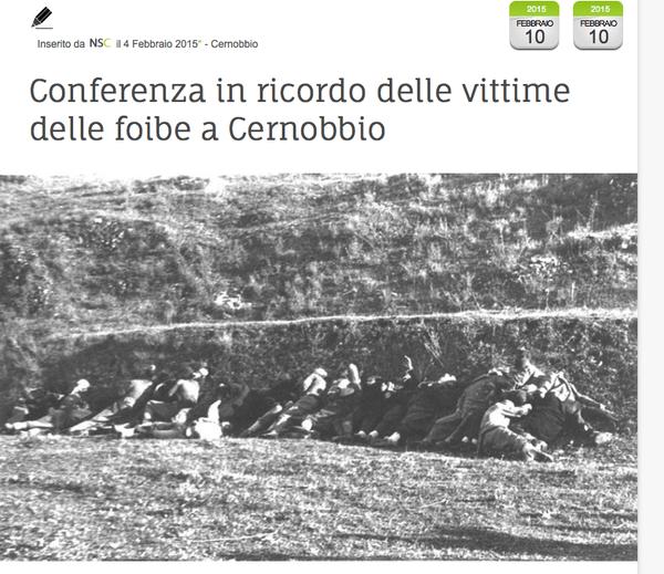 Partigiani montenegrini spacciati per morti italiani