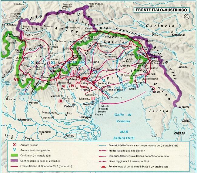 Fronte italiano 1915 - 1918