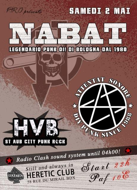 Nabat live in Bordeaux