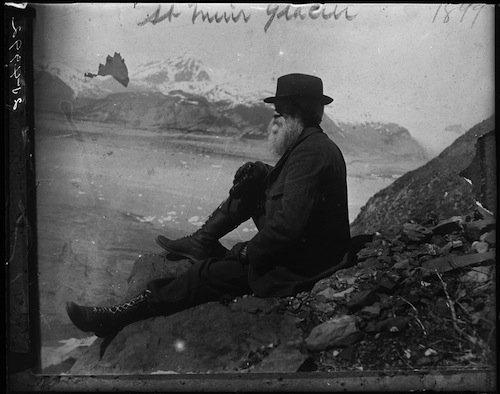 John Burroughs sul ghiacciaio Muir
