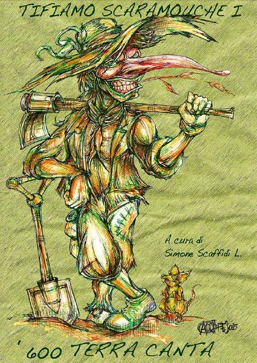 Tifiamo Scaramouche nel Seicento: «Terra canta». Clicca sulla copertina di Alessandro Caligaris per scaricare il primo dei quattro ebook (PDF).