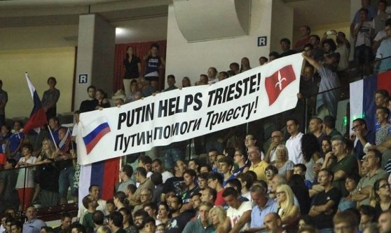 Putin helps Trieste