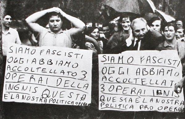 Operai Ignis contro i fascisti