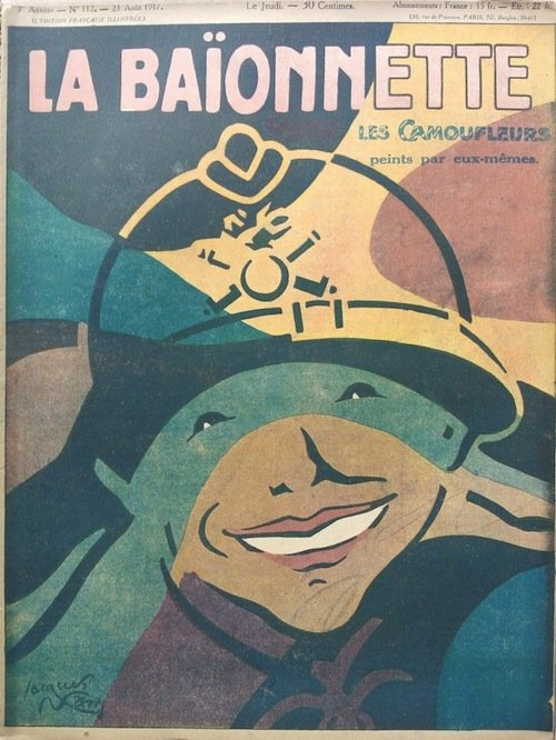 Jacques Nam, copertina de La Baïonnette, n.112, 23 agosto 1917