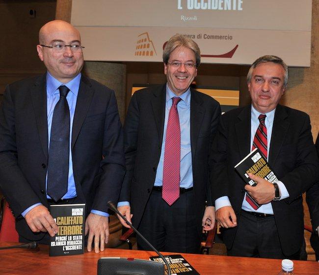 Maurizio Molinari alla presentazione del suo libro che si dice sia frutto di un copia e incolla