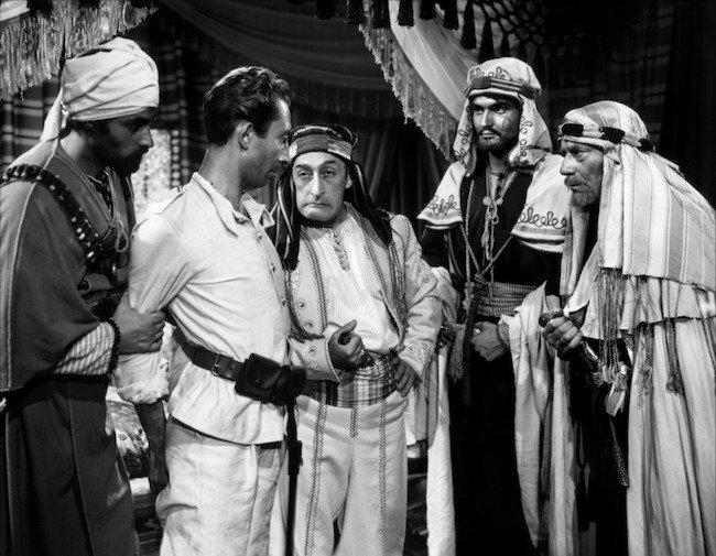 Una scena del film «Lawrence d'Arabia» di David Lean, 1962.