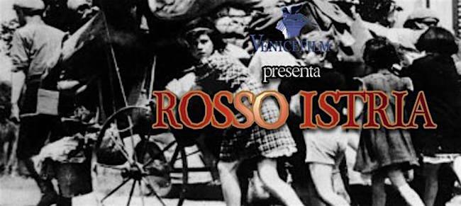 """To be continued, con l'annunciato film Rosso Istria, il film """"Rosso Istria"""", attendibile fin dalla locandina, che non mostra affatto profughi istriani ma civili francesi in fuga dai nazisti nel 1940, come già analizzato qui. Ancora una volta, come nel caso della fucilazione di Dane, si spacciano per vittime dello «slavocomunismo» quelle che nella realtà furono vittime dei nazifascismo."""