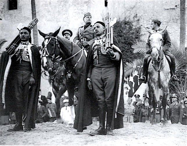 Mussolini a Tripoli