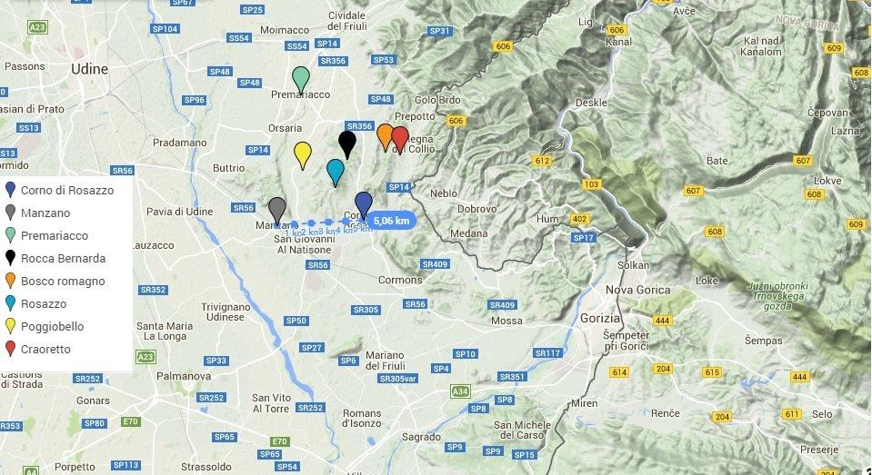 La foiba volante del Friuli orientale