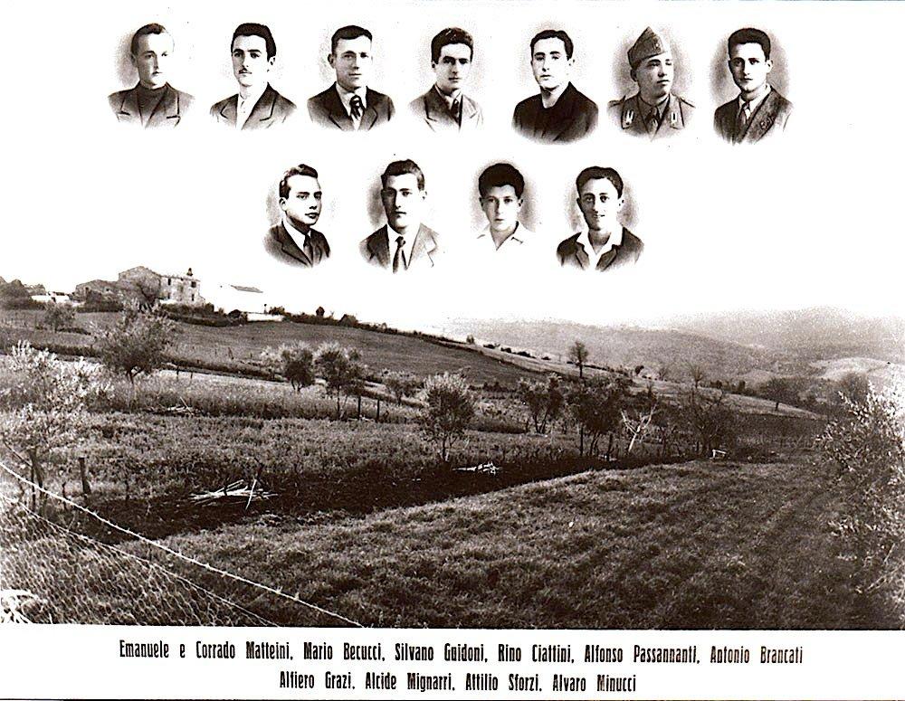 Gli undici fucilati d'Istia d'Ombrone.