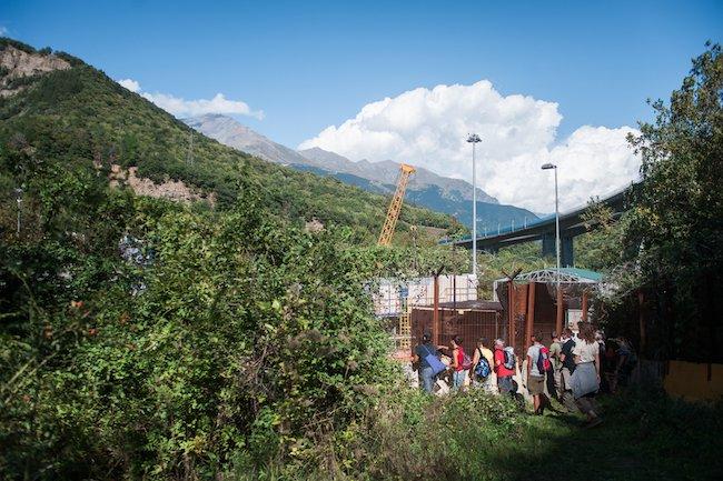 Settembre 2015: No Tav al cantiere-fortilizio in Val Clarea.