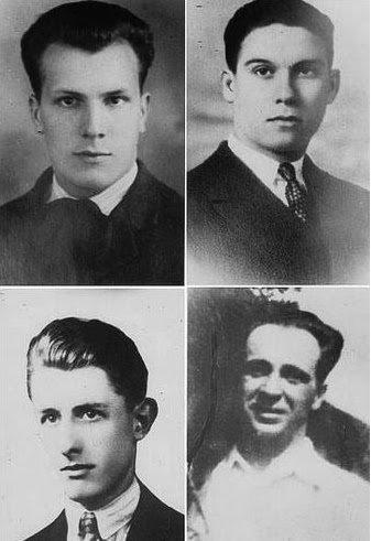 I quattro antifascisti fucilati a Basovizza il...
